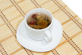 Flower tea — Stock Photo