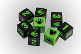 Board game dice — Stock Photo