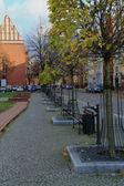 Colourful sidewalk — ストック写真