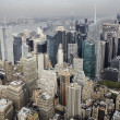 New York City Manhattan skyline aerial view — Stock Photo #39274495