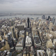 New York City Manhattan skyline aerial view — Stock Photo #39274669