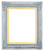 Antique frame isolated on white background — Stock Photo
