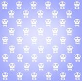Cráneos de patrones, textura abstracta sin fisuras. — Foto de Stock