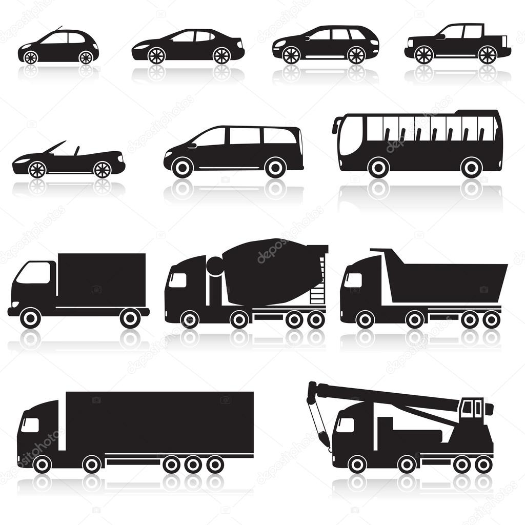 пиктограмма автомобиль: