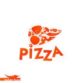 Pizza design template — Stock Vector