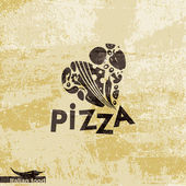 Template Design Italian food — Stock Vector