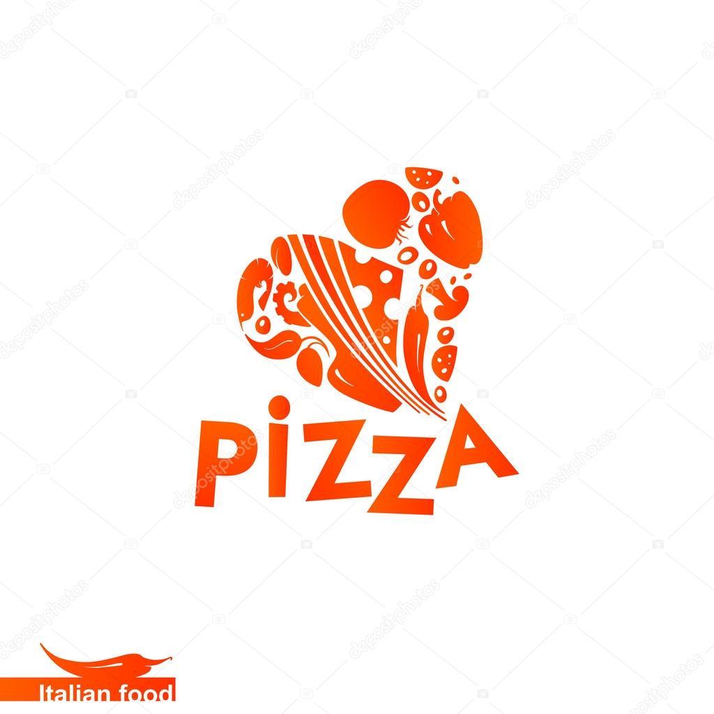 披萨标志大全图解