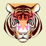 Tiger. Fashion illustration — Stock Vector #38972391