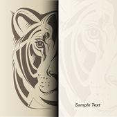 Lioness illustration — Stock Vector