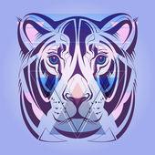 ライオン。流行に敏感なスタイルです。ベクトル. — ストックベクタ