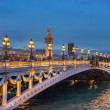 Stock Photo: Pont alexandre 3