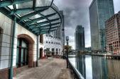 Canary Wharf -HDR — Stock Photo
