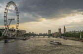 London at sunset — Stock Photo