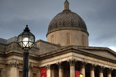 National gallery, Trafalgar square in London. — Stock Photo