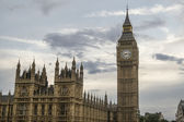 Big Ben and the Parliament — 图库照片