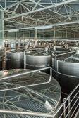 "Interior of winery ""Belje"", a modern winery in Croatia — Stock Photo"