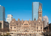 TORONTO, CANADA - MAY 4, 2007: The gothic style building of the — Stock Photo
