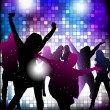 Vector de stock : Dancing young people