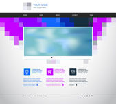 Website template - mosaic concept — Stockvektor