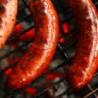 Stock Photo: Sausage barbecue