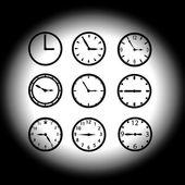 Watch dials eps10 — Stock Vector