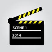 Film flap eps10 — Stock Vector