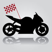 Motorbike abstraction eps10 — Stock Vector