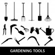 Gardening tools icons eps10 — Stock Vector #43491307