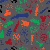Automotive colorful pattern eps10 — Stockvector