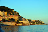Nice city of france seacoast photo — 图库照片