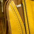 Detail of a leather bag closeup — Stock Photo #41536821