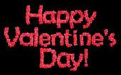 Happy Valentine's Day balloons — Stock Photo