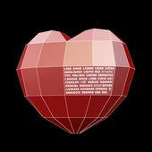 Heart&Love on 30 language — Stock Photo
