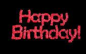 Globos feliz cumpleaños — Foto de Stock