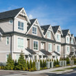 Modern townhouse complex — Stock Photo #39064823