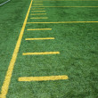 American football field — Stock Photo