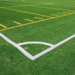 Stock Photo: Football and soccer field
