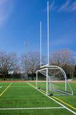 Fotboll och soccer gates — Stockfoto
