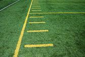Campo di gioco del calcio americano — Foto Stock
