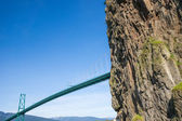 Lions Gate Bridge — Zdjęcie stockowe