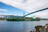 Container carrier — Foto de Stock