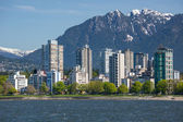 The West End of Vancouver — Stock Photo