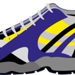 Sneaker — Stock Vector #38845125
