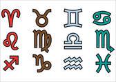 Sign of the zodiac — Stock Vector