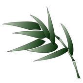 Bambus-zweig — Stockvektor