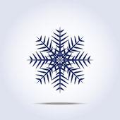 Snowflake icon. Vector illustration — Stock Vector