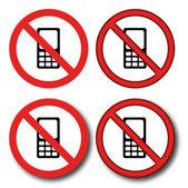 No phone — Stock Vector