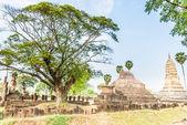 Sukhothai ruin old city — Stock Photo