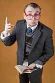 Teacher of philosophy in university — Stockfoto