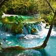 Beautiful, exotic waterfall landscape — Stock Photo